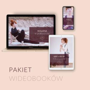 Pakiet wideobooków Oddech + Kręgosłup + Kolana